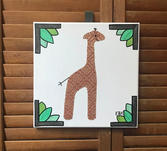 Giraffe #8 Fabric Wall Art