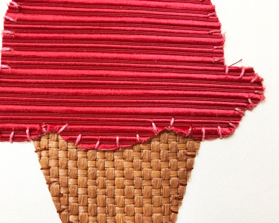Small Cone #5 Fabric Wall Art
