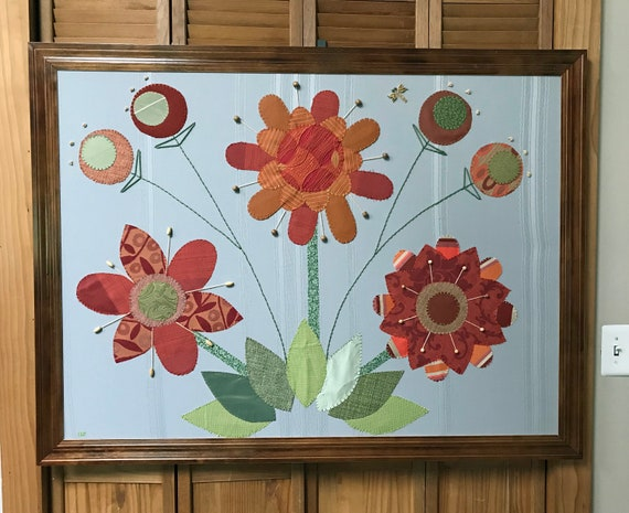 Garden #2 Fabric Wall Art