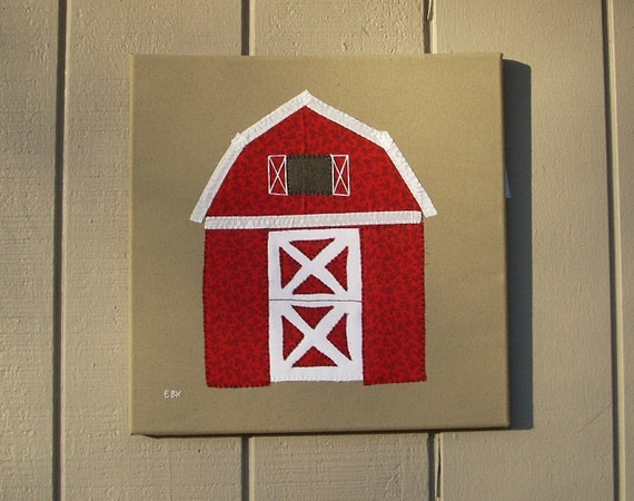 Barn #1 Fabric Wall Art