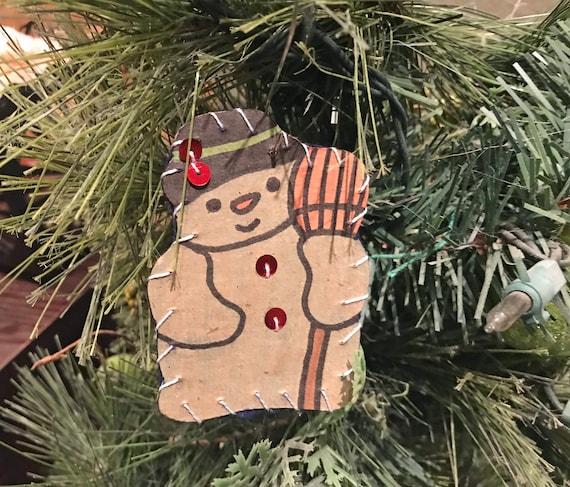 Frosty Ornament #1