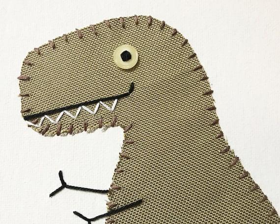 T-Rex #8 Fabric Wall Art