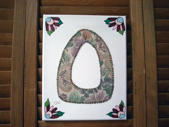 Initial O #1 Fabric Wall Art