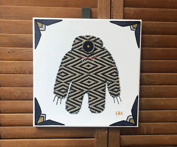 Big Monster #5 Fabric Wall Art