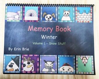 Children's Book-Memory Book Volume 1 Winter