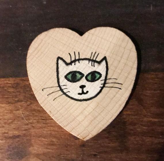 Cat Love Magnet #7 Original Illustration