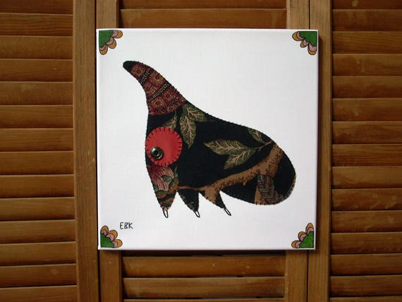 Treehopper #1 Fabric Wall Art