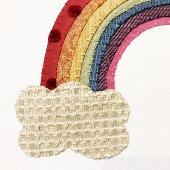 Rainbow #7 Fabric Wall Art