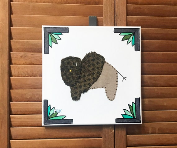 Bison #3 Fabric Wall Art