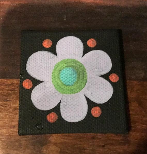 Dark Flower Magnet #5 Original Illustration