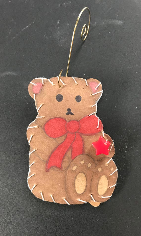 Bear Ornament 1 2017