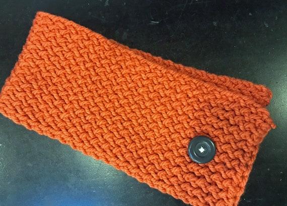 Orange Collar Scarf