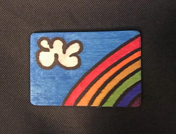 Rainbow Magnet #4 Original Illustration