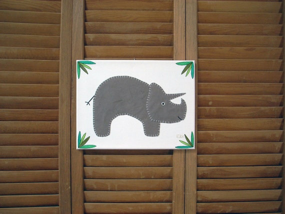 Triceratops #1 Fabric Wall Art