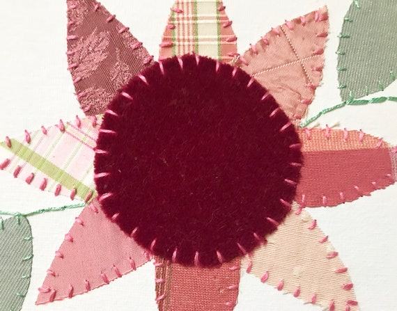 Baby Flower #2 Fabric Wall Art