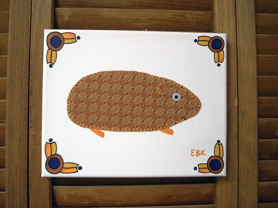 Guinea Pig #2 Fabric Wall Art