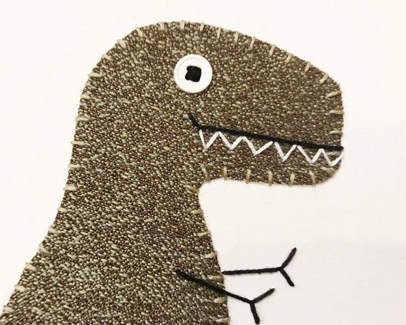 T-Rex #10 Fabric Wall Art