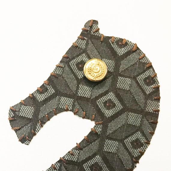 Seahorse #9 Fabric Wall Art