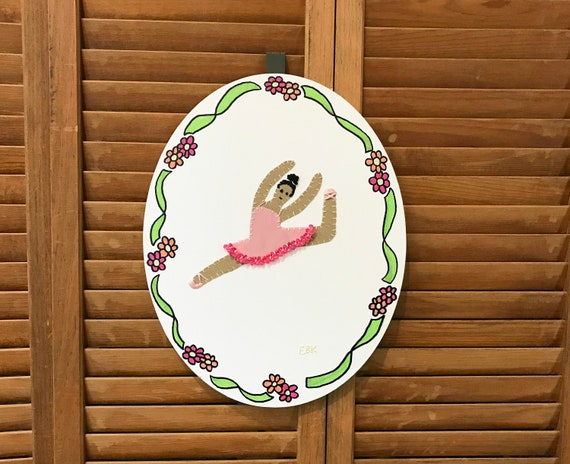 Dancer #2 Fabric Wall Art
