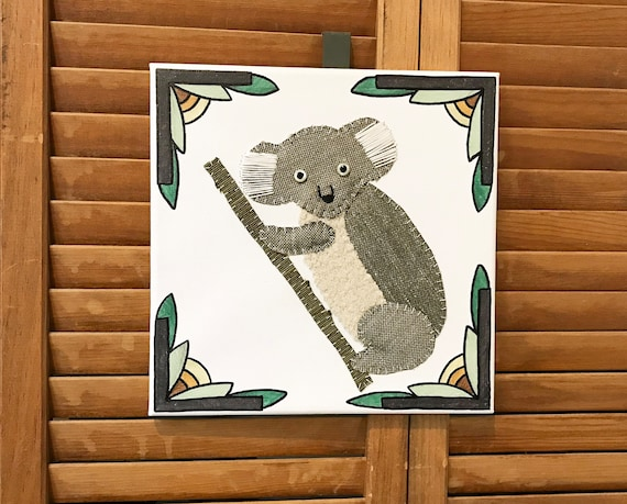 Koala #3 Fabric Wall Art