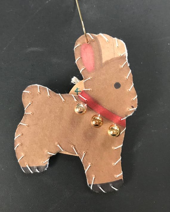 Reindeer Ornament 1 2017