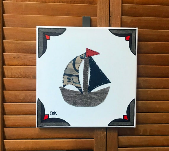 Sailboat #3 Fabric Wall Art