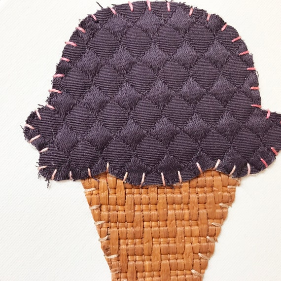 Small Cone #2 Fabric Wall Art