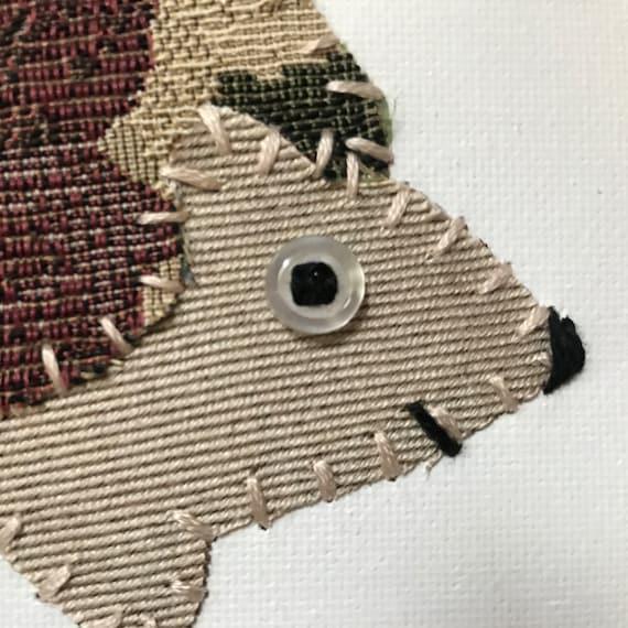 Hedgehog #8 Fabric Wall Art