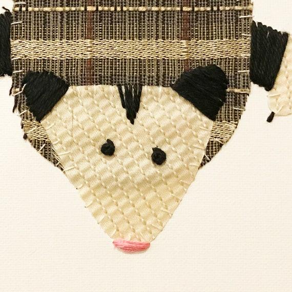 Possie #4 Fabric Wall Art