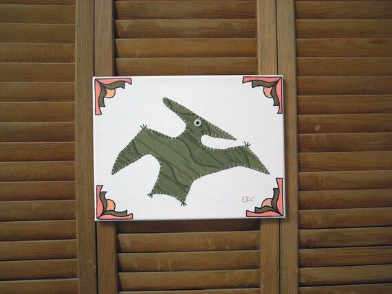 Pteranodon #3 Fabric Wall Art