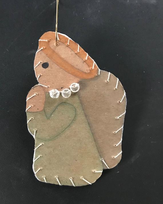 Side Angel Ornament  #1 2017