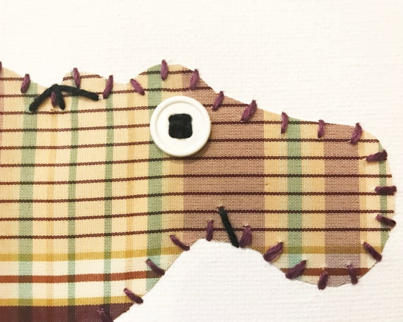 Hippo #9 Fabric Wall Art