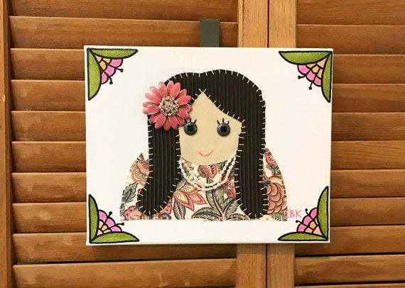 Princess #2 Fabric Wall Art