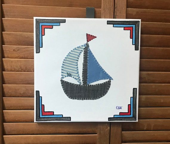 Sailboat #5 Fabric Wall Art