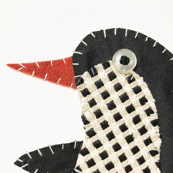 Small Penguin #1 Fabric Wall Art
