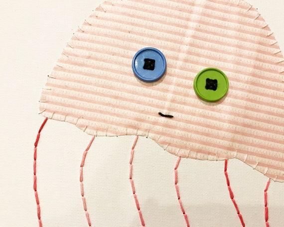Jelly #1 Fabric Wall Art