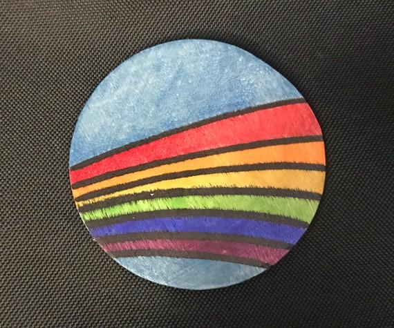 Rainbow Magnet #9 Original Illustration