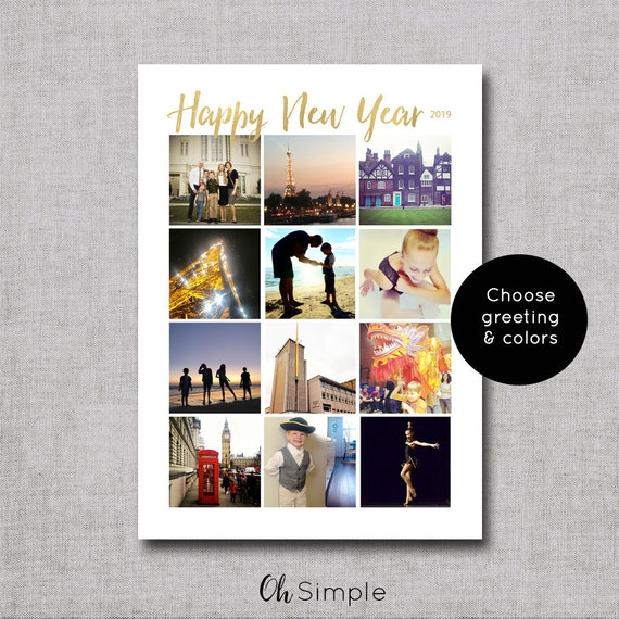 Instagram holiday cards photo christmas cards photo new etsy image 0 m4hsunfo