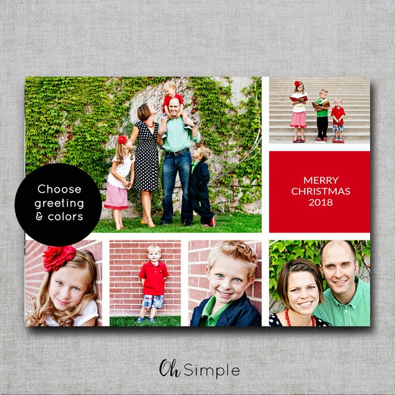 Photo christmas card christmas cards photo holiday cards etsy image 0 m4hsunfo