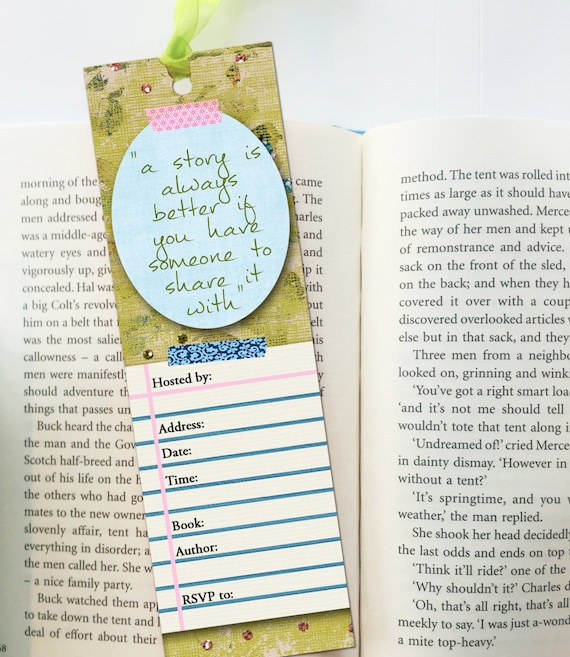 Book Club Starter Kit Book Group Printables Book Club Etsy