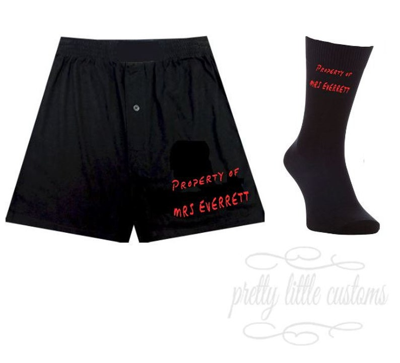Printed with Any Name M L The Gift Experience Your Name Was Here Personalised Boxer Shorts Size S XL  