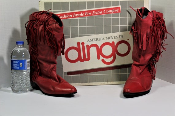 Red Fringe Cowboy Boots,Womans Red Fringe Cowboy B