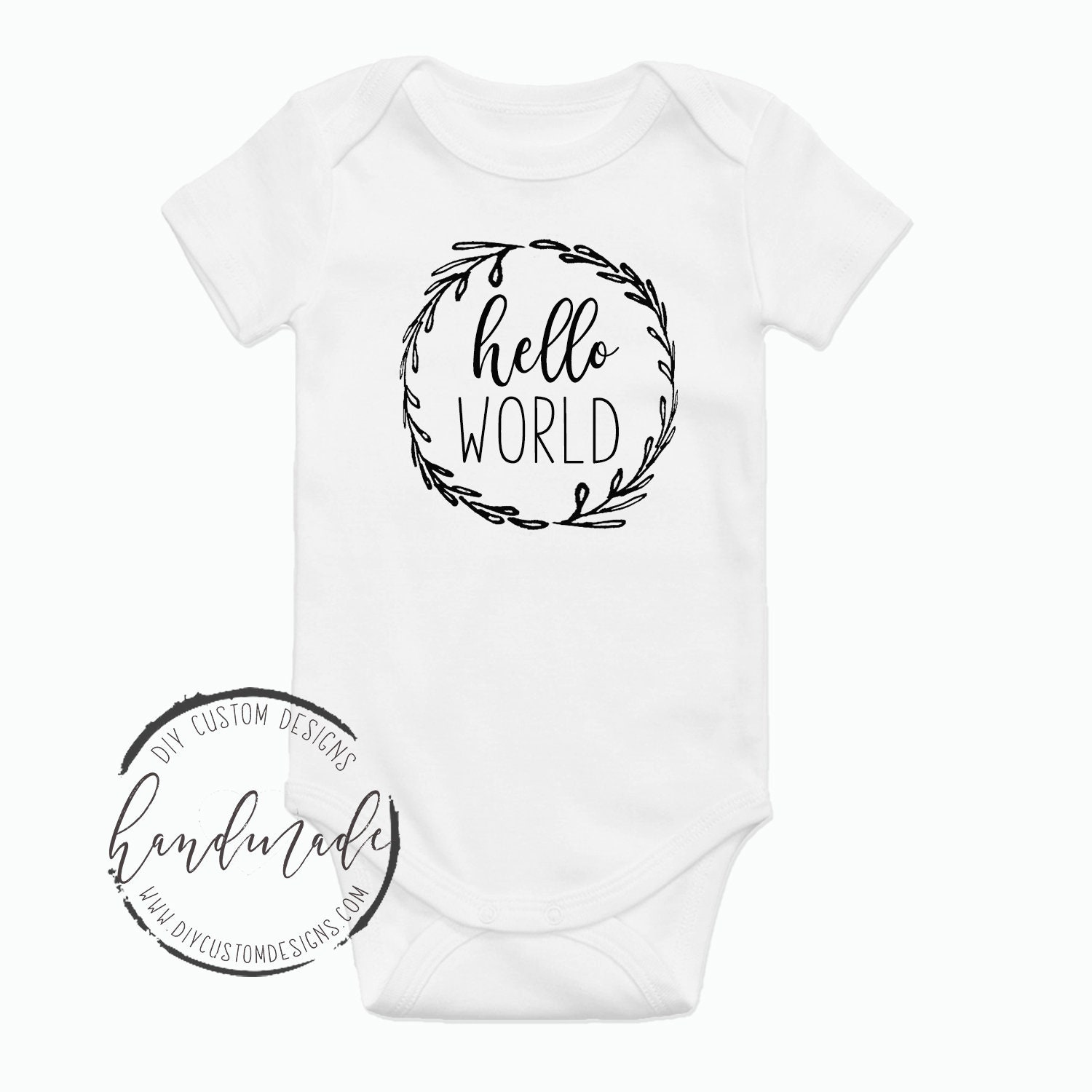c6ba6e514 Hello World Baby Onesies®, Coming Home Outfit, Gender Neutral, Baby  Bodysuit, Newborn Baby Gift, Hospital take home outfit