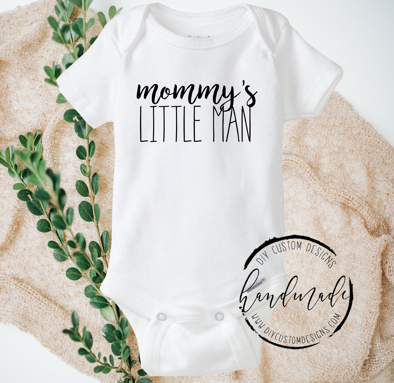 ffac8259233e Mommy s Little Man Baby Onesies®