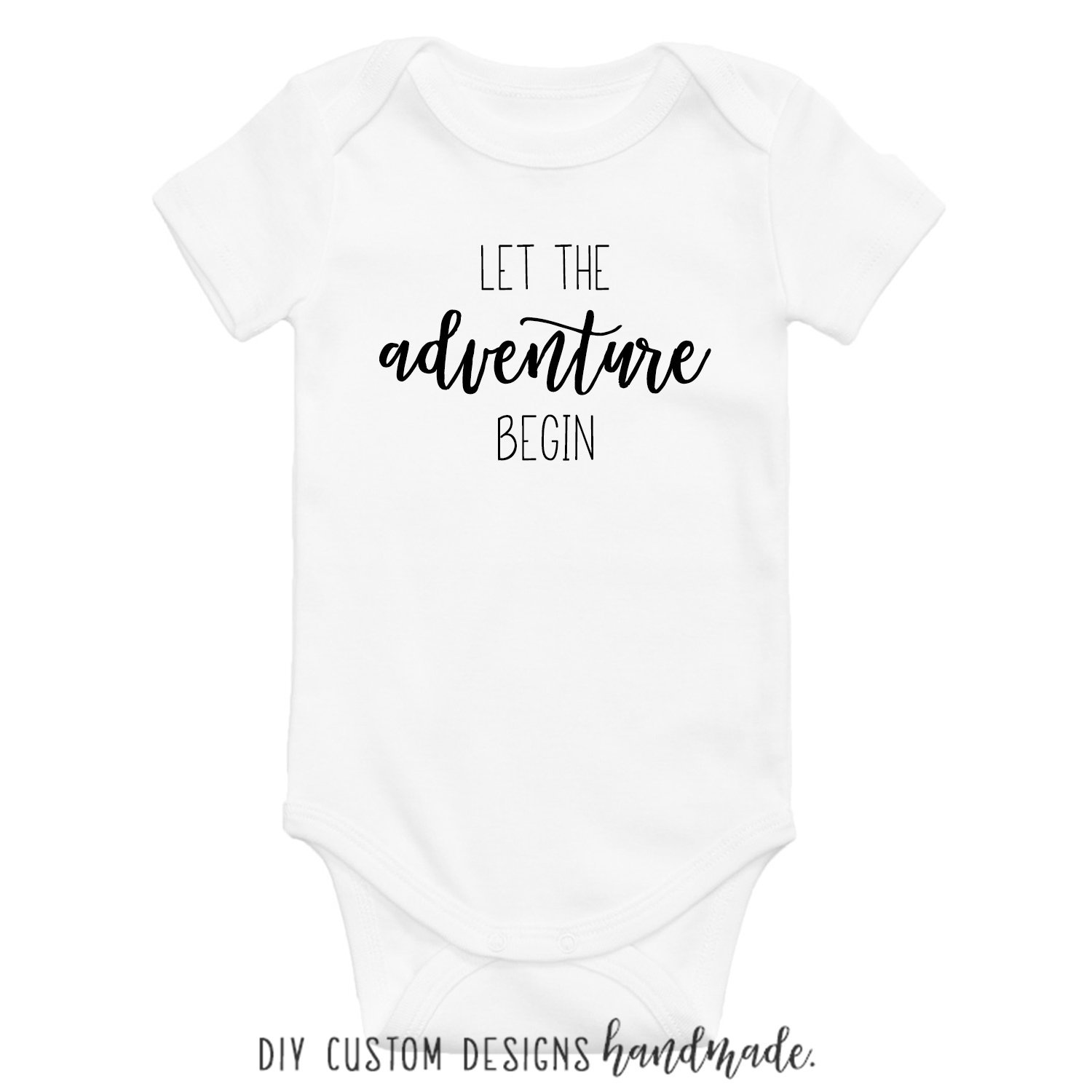 2e312b2e3 Baby Announcement Onesie®, Let the Adventure Begin Baby Onesies®, Pregnancy  Announcement Onesies®, Baby Bodysuit, Newborn Coming Home Outfit