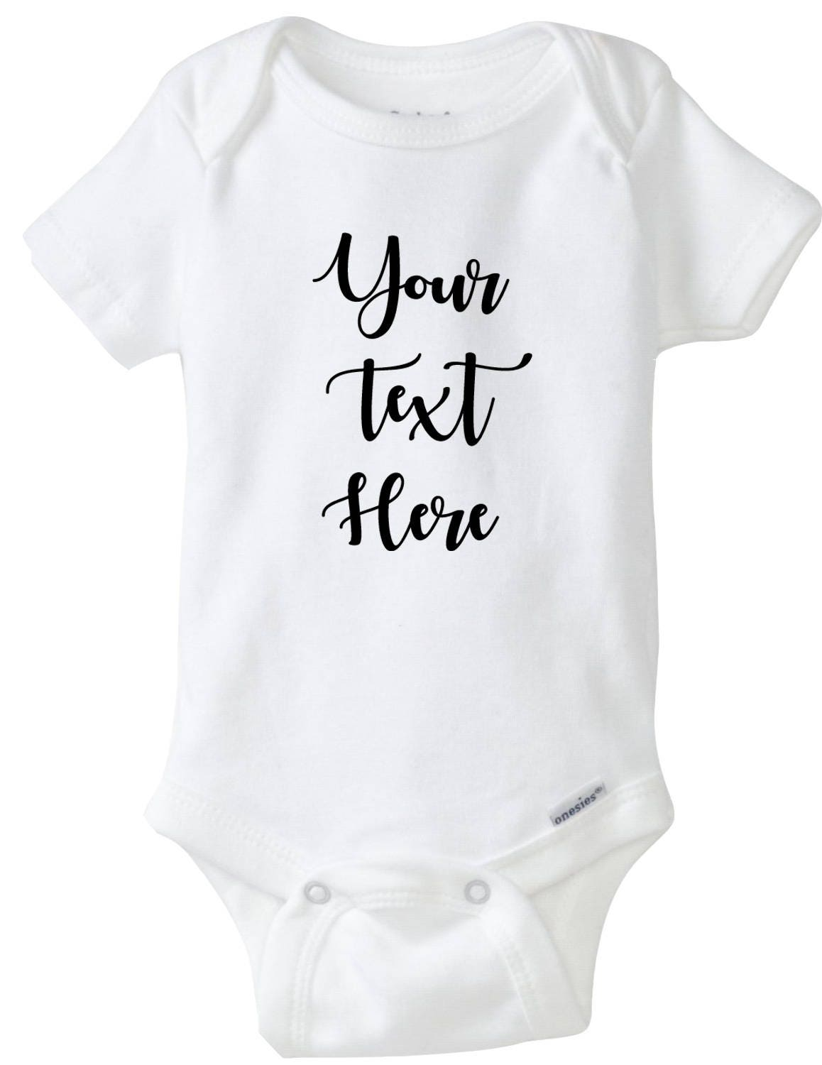 cc5cdddc74e02 Custom Baby Onesies®, Your Design Here, Personalized Baby Outfit