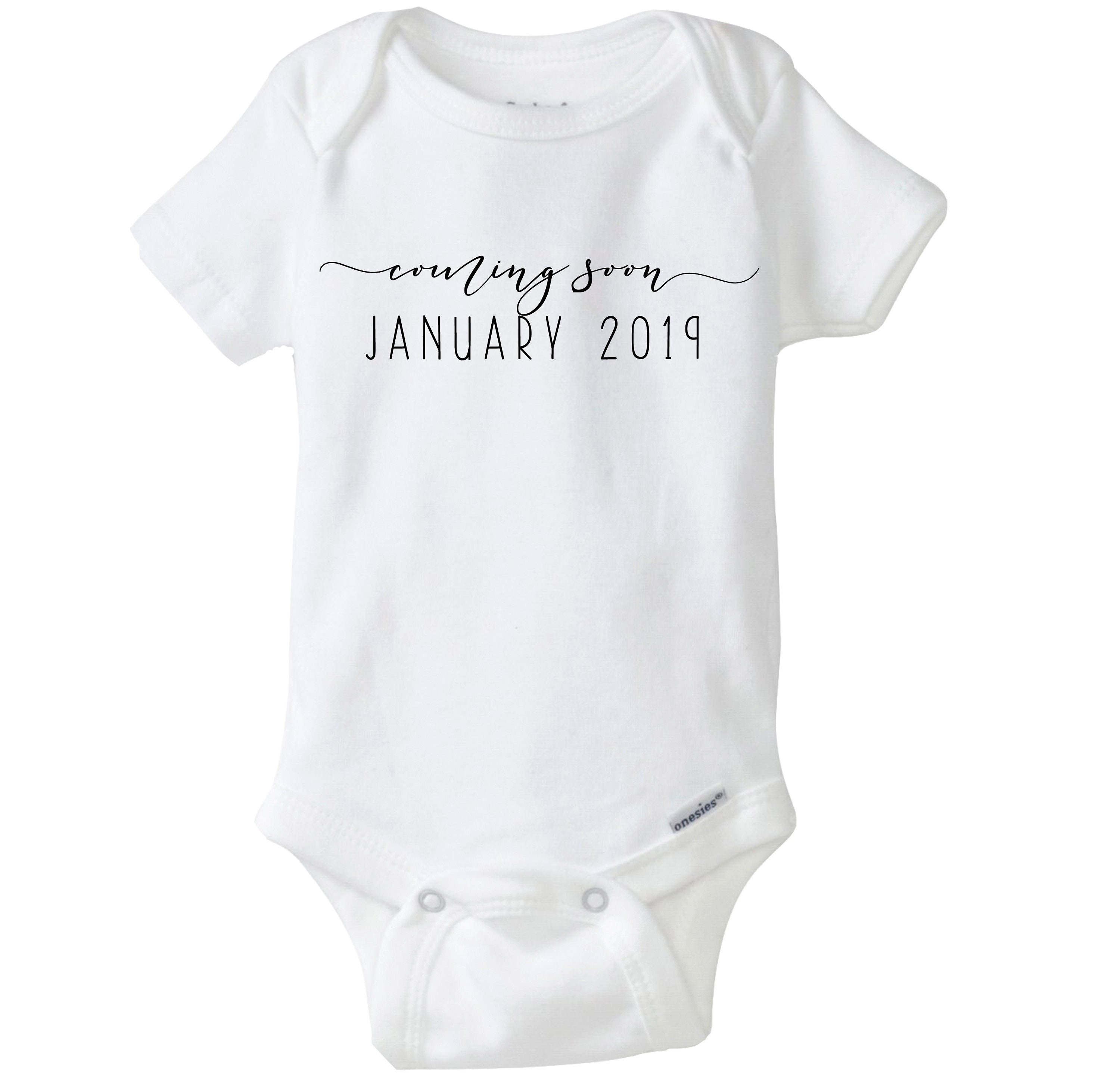 8b35b6159 Coming Soon Baby Announcement Onesies®, Pregnancy Announcement, Pregnancy  Reveal Baby Onesies®, Grandma gift, Aunt & Uncle Gift, Photo Prop