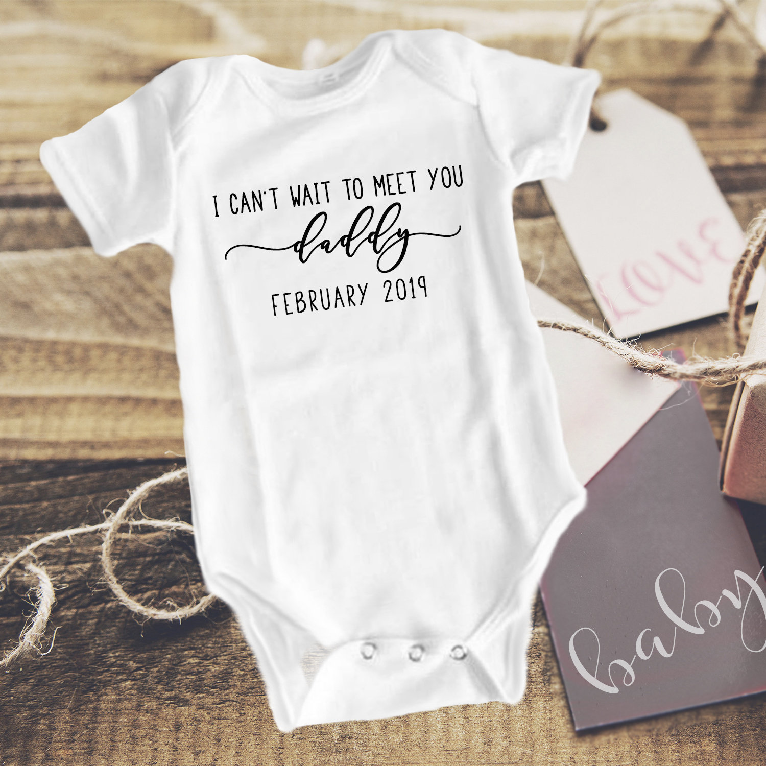 Gender Reveal To Husband Baby Boy Announcement Onesie New Dad Gift Going To Be A Dad Pregnancy Announcement Baby Boy Newborn Onesie