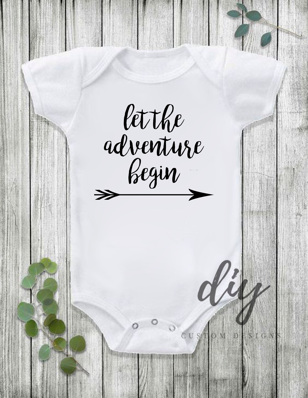 Baby Onesie l/'aventure commence