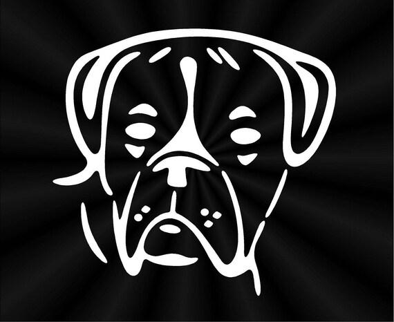 Got Boxer Boxer Dog GRAPHIC DECAL STICKER CAR VINYL WALL